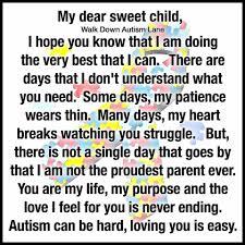 dear sweet child